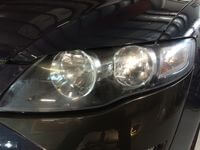 Headlight Restoration Before