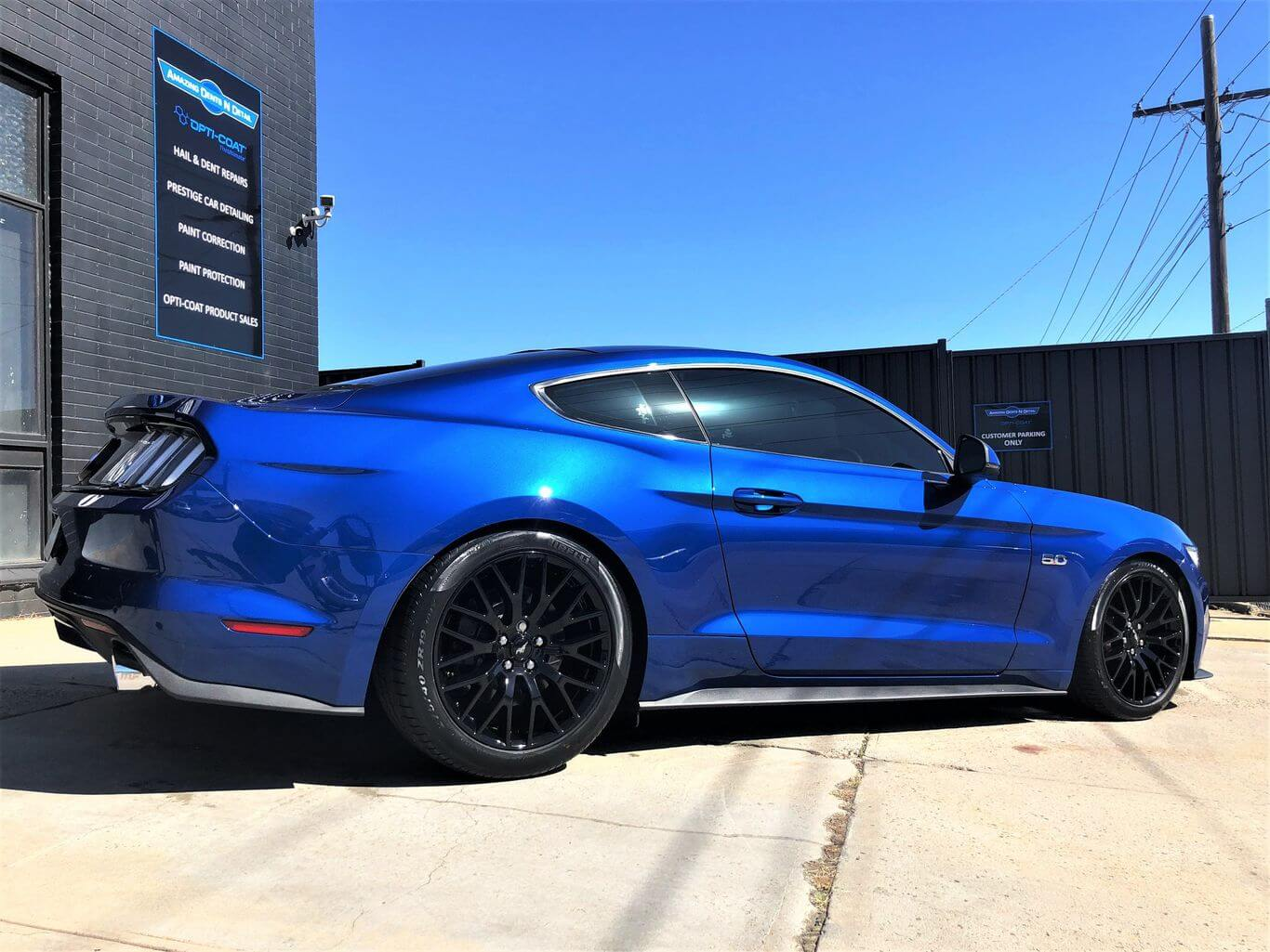 PROJECT MUSTANG - Opticoat Pro Plus Paint Protection at Amazing Dents N Detail.  Here is t