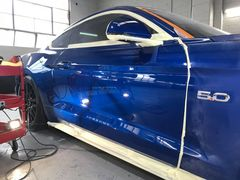 Project Mustang - Paint Enhancement. Time to shine! Now we start the process of bringing b